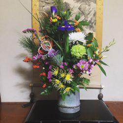 お正月 お花。2018.jpg