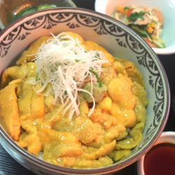 ウニ丼キラキラ。.jpg
