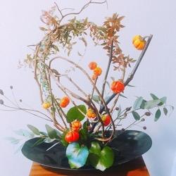 秋のアレンジフラワー いけてみた (1).jpg